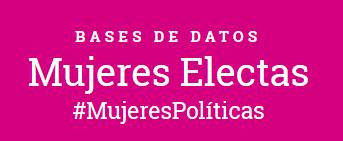 Enlace al sitio de la base de datos de Mujeres Electas del INE